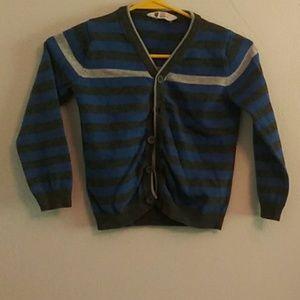 Boy's Button Down Sweater